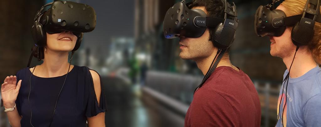 Virtual Reality-Brillen machen Räume und Dinge neu erlebbar