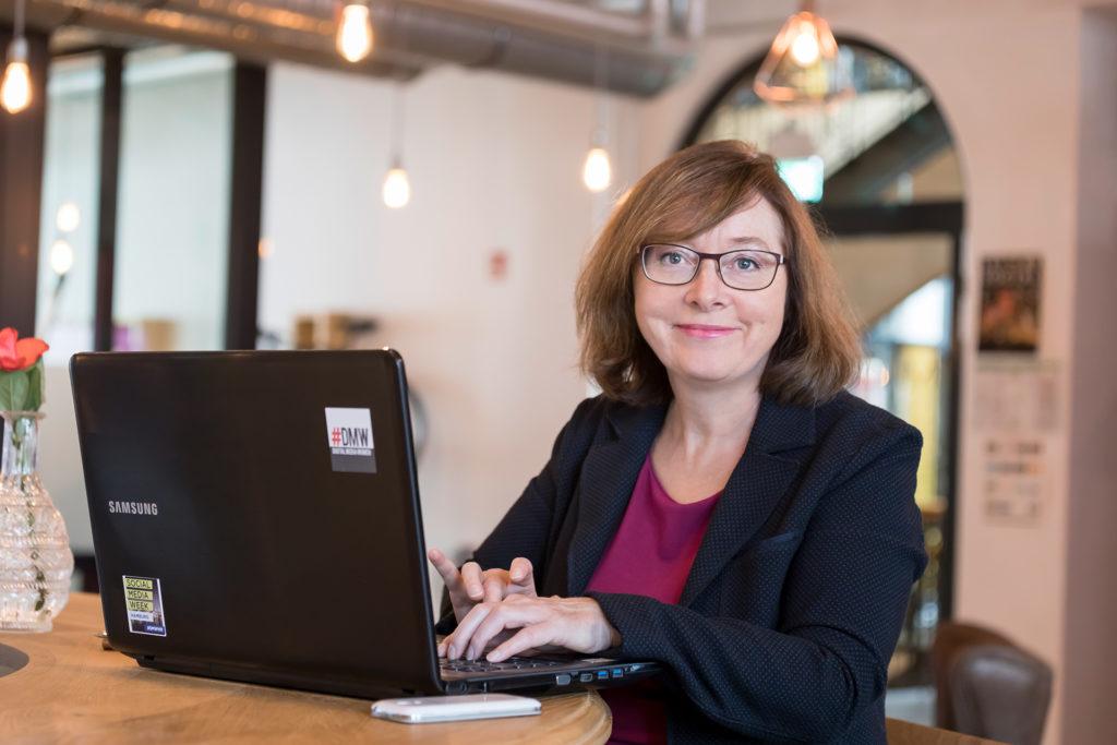 Kommunikationsexpertin Daniela Schulz vom Redenatelier