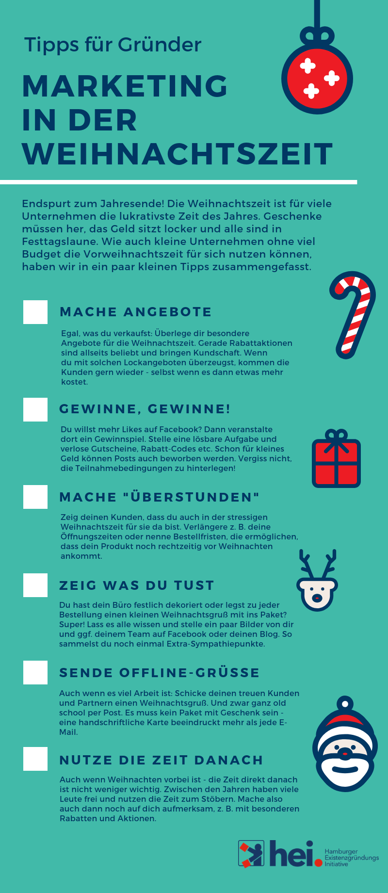 Infografik Marketing In Der Weihnachtszeit Hei Hamburger