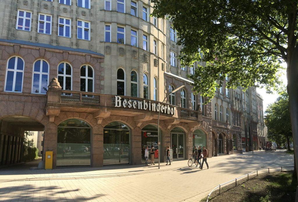 In unmittelbarer Nähe zum Hauptbahnhof und gut mit dem ÖPVN erreichbar: Die neue Location des Hamburger Gründertags