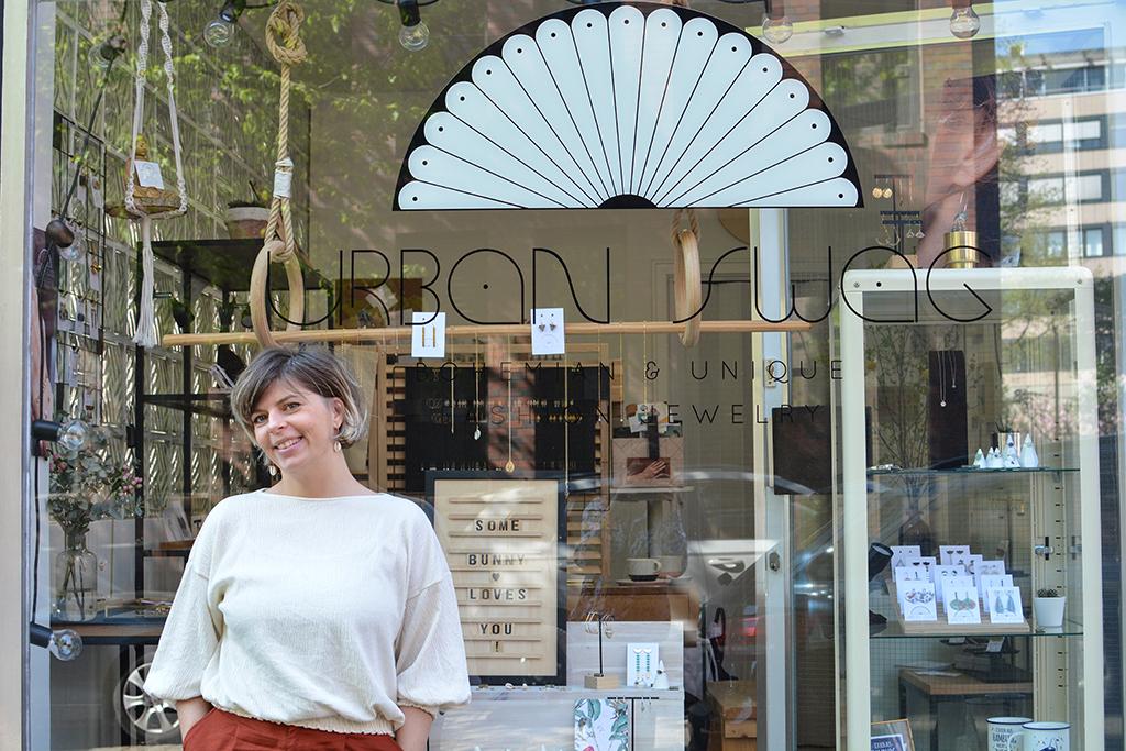 """Mit """"Urban Swag"""" hat Gründerin Nicole Schneider ihr Hobby zum Beruf gemacht."""