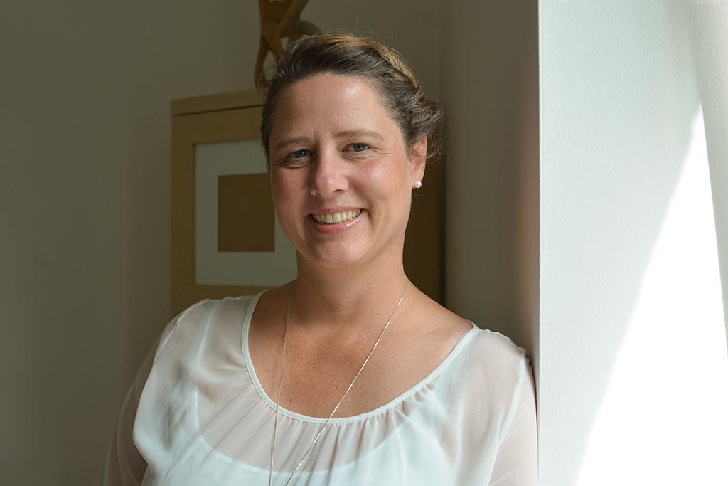 Denise Meyer gründete zunächst in Teilzeit