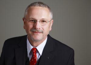 Werner Krassau erläutert den Businessplan
