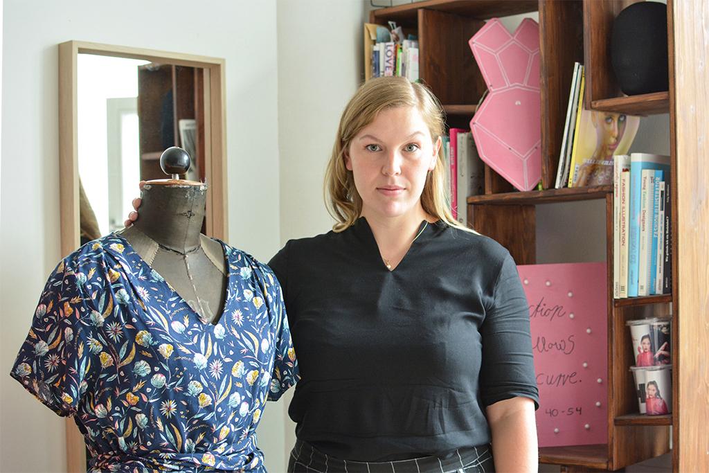 Mit Süperb ein Modelabel für große Größen gegründet: Klara Stenzel