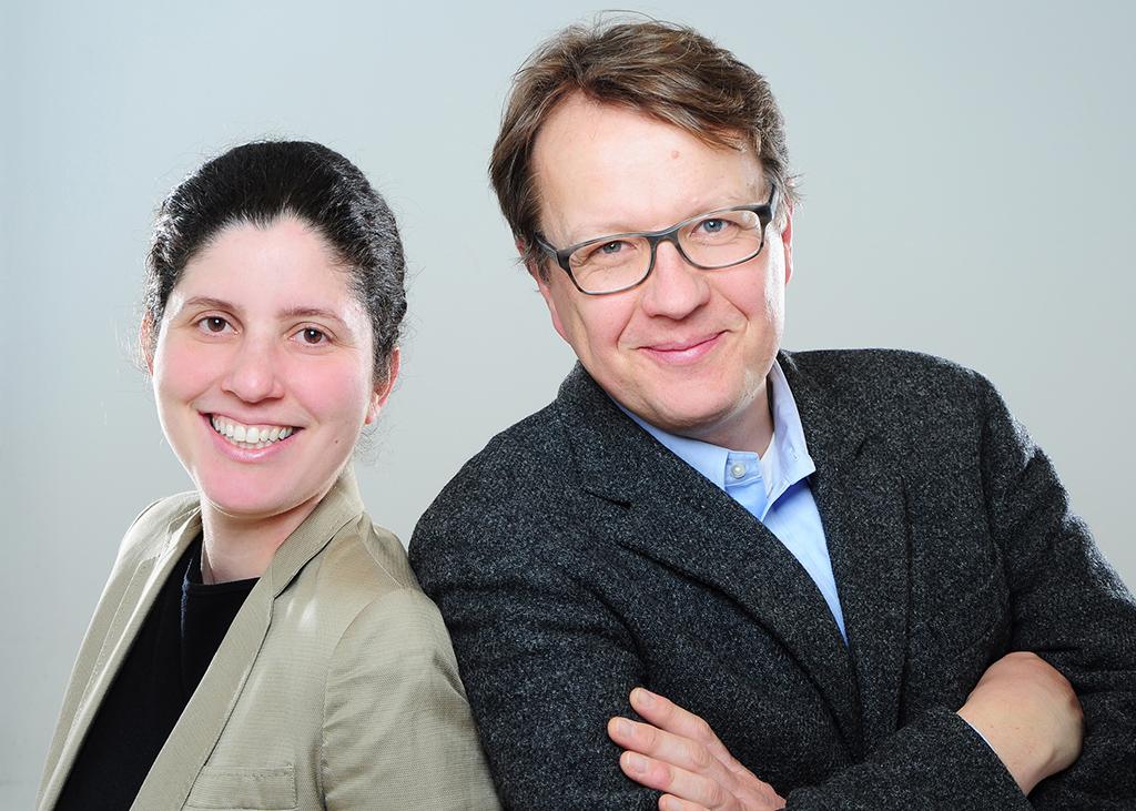 Videos mit dem Smartphone produzieren: Das bringen Ilona Aziz und Thomas Wagensonner ihren Kunden bei.