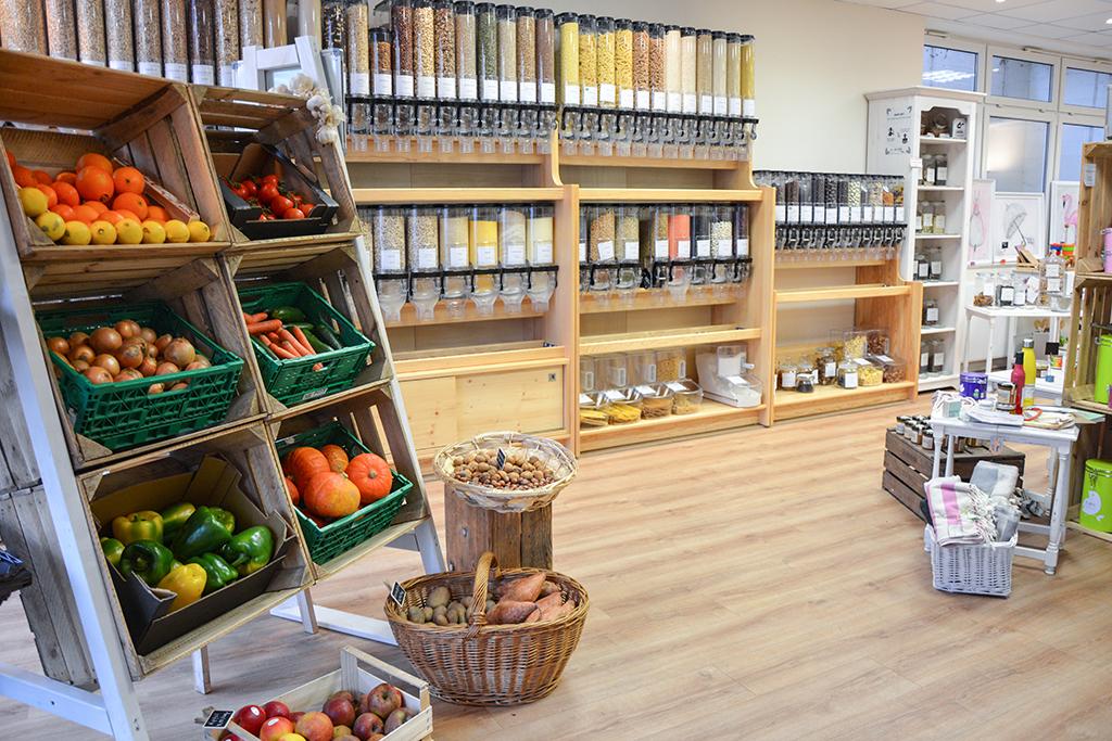"""Obst, Gemüse, Eco-Fashion und Kosemtika ohne Verpackung gibt es im """"Ohne Gedöns"""""""