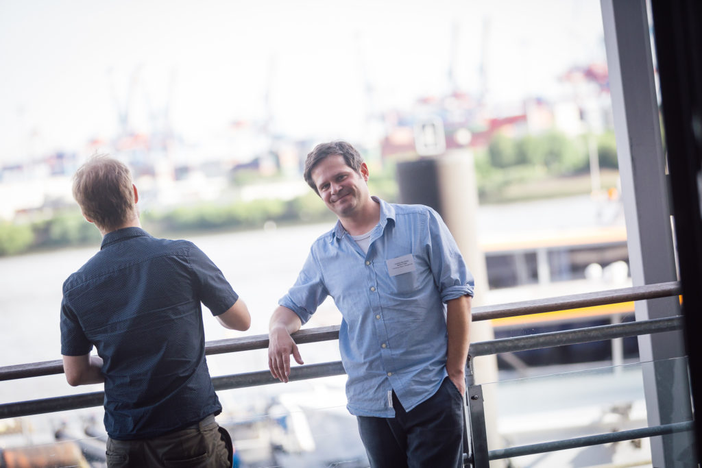 Beratung gibt es von Markus Engel, Mitarbeiter der Hamburg Kreativ Gesellschaft