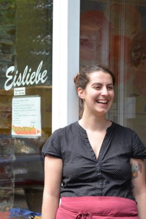 Inhaberin Julia Tarazi vom Café Eisliebe