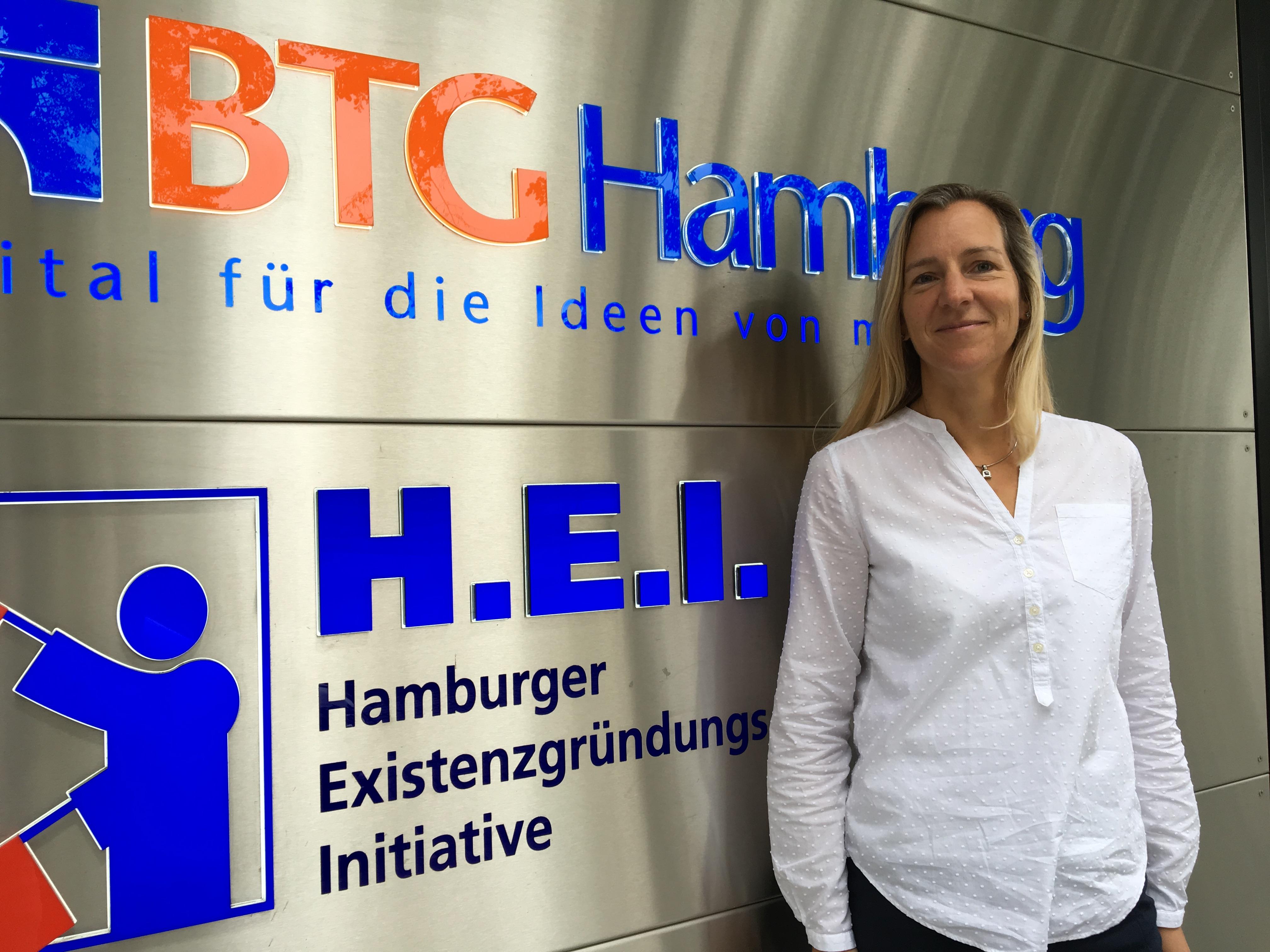 Die Motivation und Leidenschaft der Gründer beeindruckt Katja Schütt