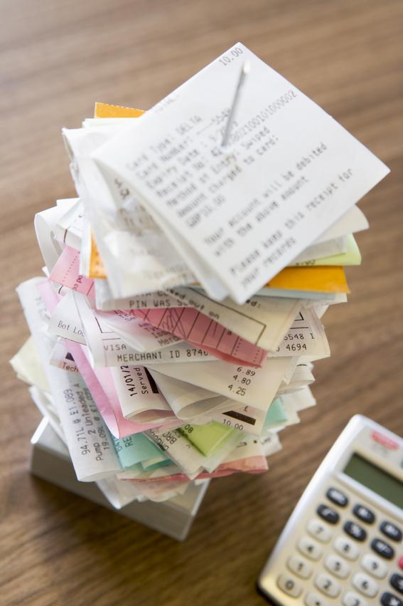 Ordnung von Beginn an erleichtert später die Finanzbuchhaltung